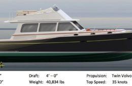 Salish Sea Yachts IS48, Boat #1