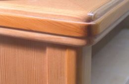 V G Fir and Pacific Yew Cabinet Detail