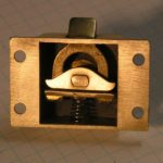 brass pantry latch mechanism
